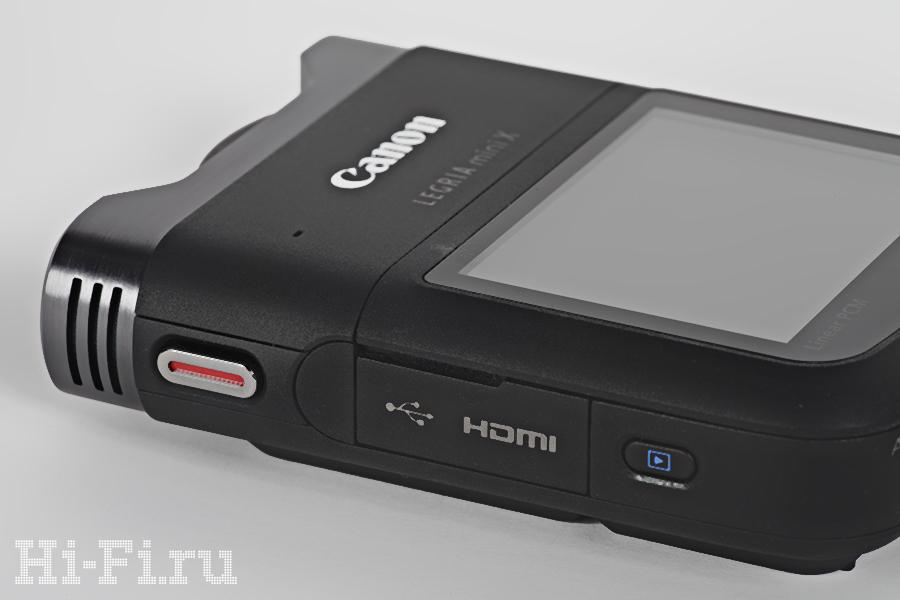 Видеокамера Canon Legria mini X