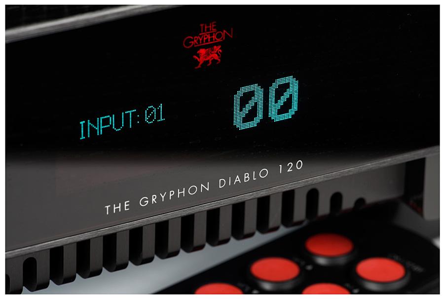 Интегрированный усилитель Gryphon Diablo 120