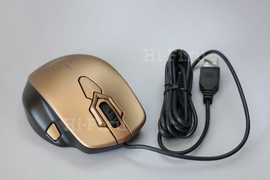 Игровая мышь SteelSeries World of Warcraft MMO Mouse Gold Edition