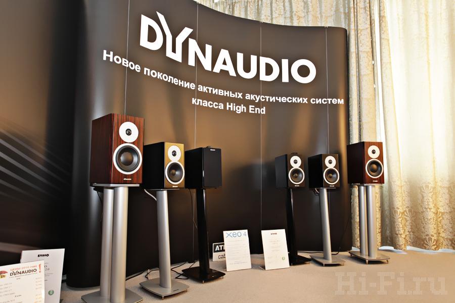 Активные проводные и беспроводные акустические системы Dynaudio