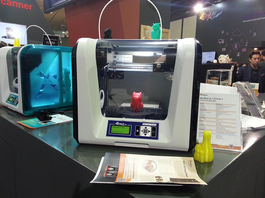Новинки на IFA 2015: 3D-принтеры