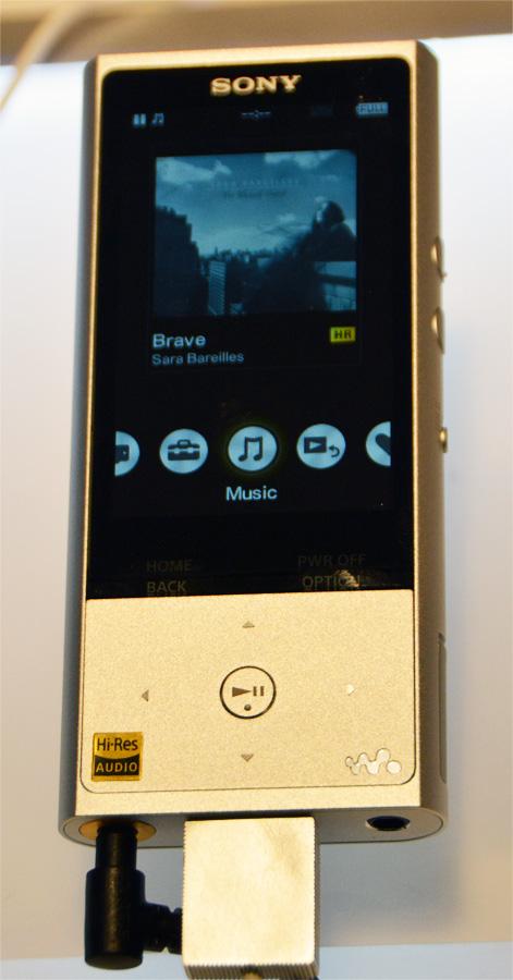Портативный аудиоплеер Sony ZX100HN