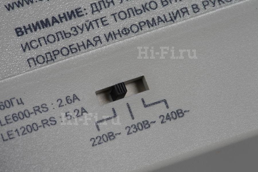 Стабилизатор напряжения APC LE1200-RS