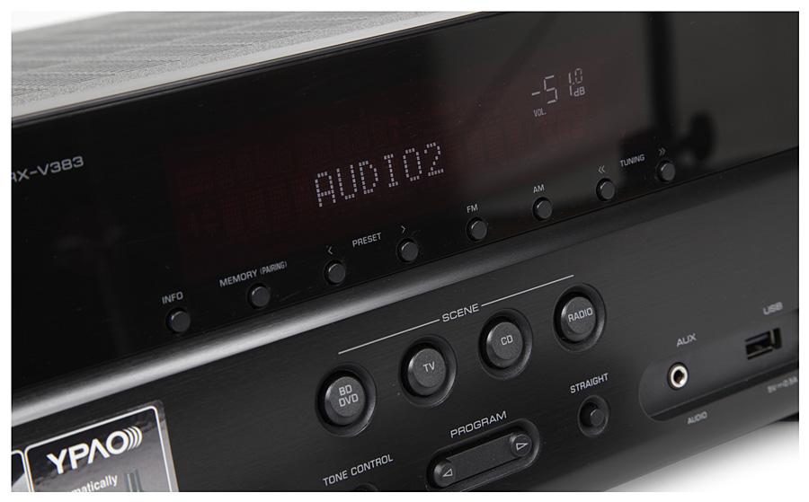 AV-ресивер Yamaha RX-V383