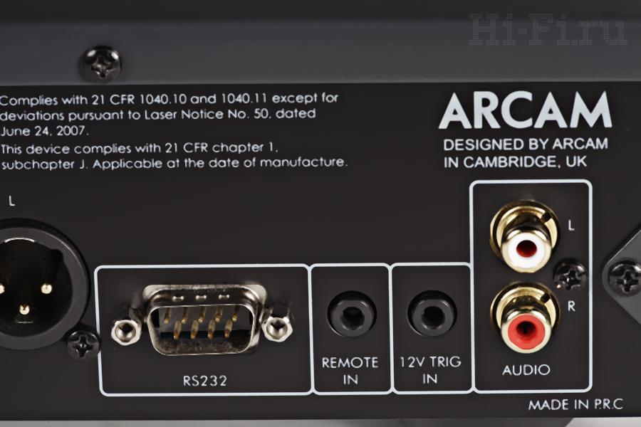 SACD/CD-проигрыватель/сетевой плеер Arcam CDS27