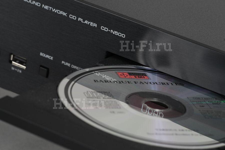 Сетевой проигрыватель компакт-дисков Yamaha CD-N500
