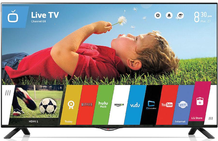 Типичный 4К-телевизор с диагональю 48 дюймов