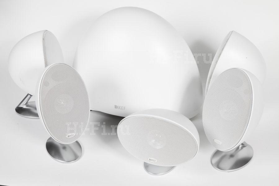 Комплект акустики окружающего звучания KEF E305