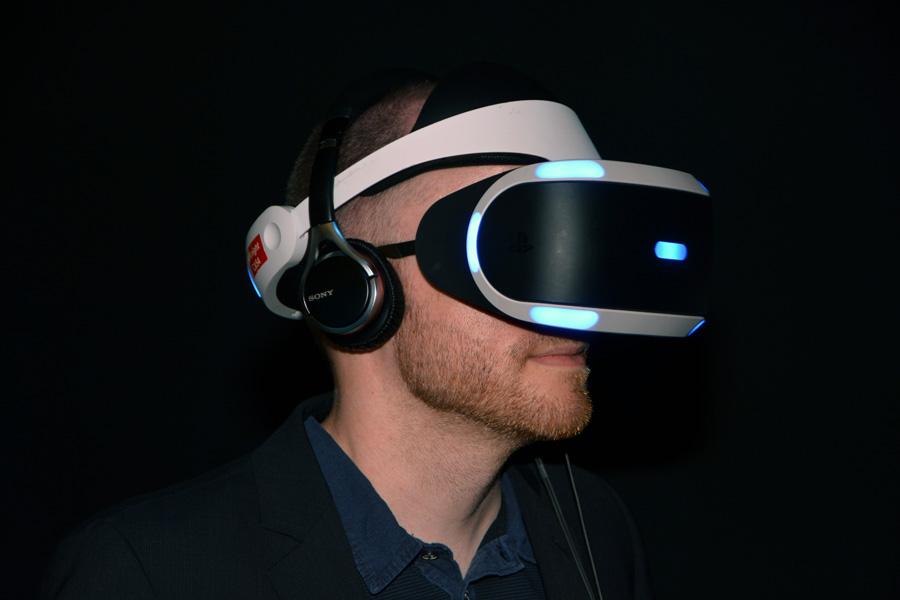 Очки виртуальной реальности Sony Morpheus
