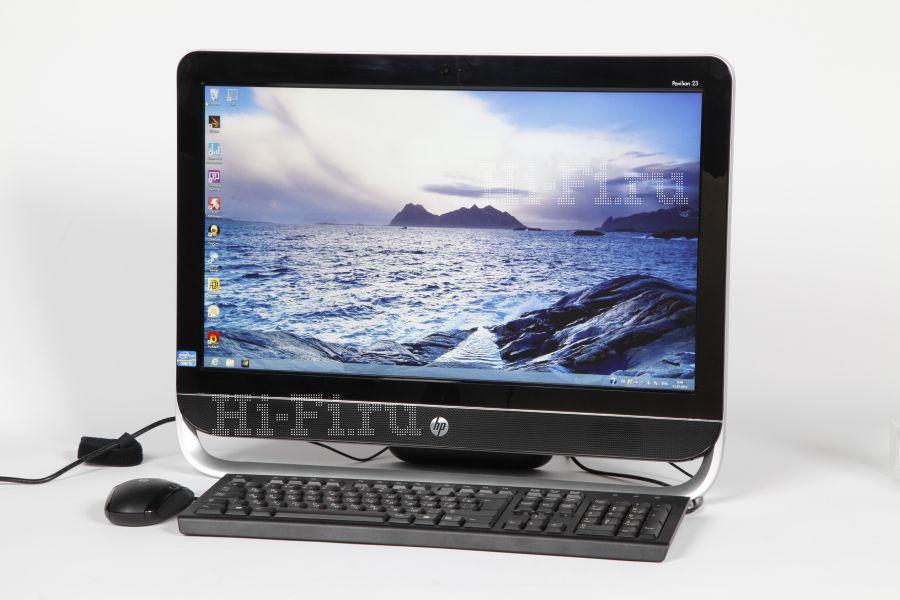 Настольный моноблочный компьютер HP Pavilion 23-b003er