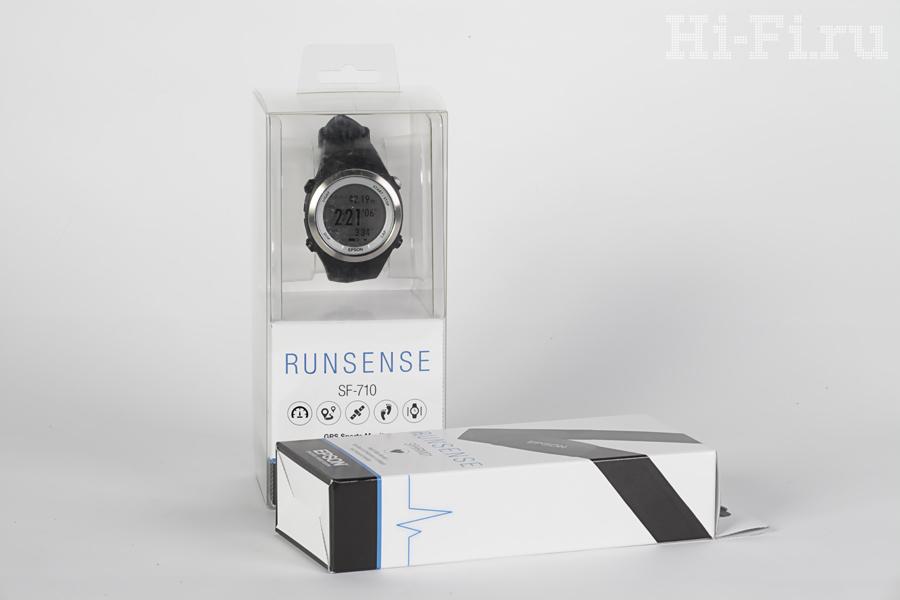 Спортивные часы Epson Runsense SF-710S