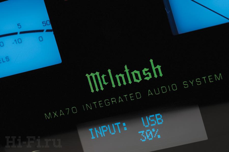 Стереосистема McIntosh MXA70