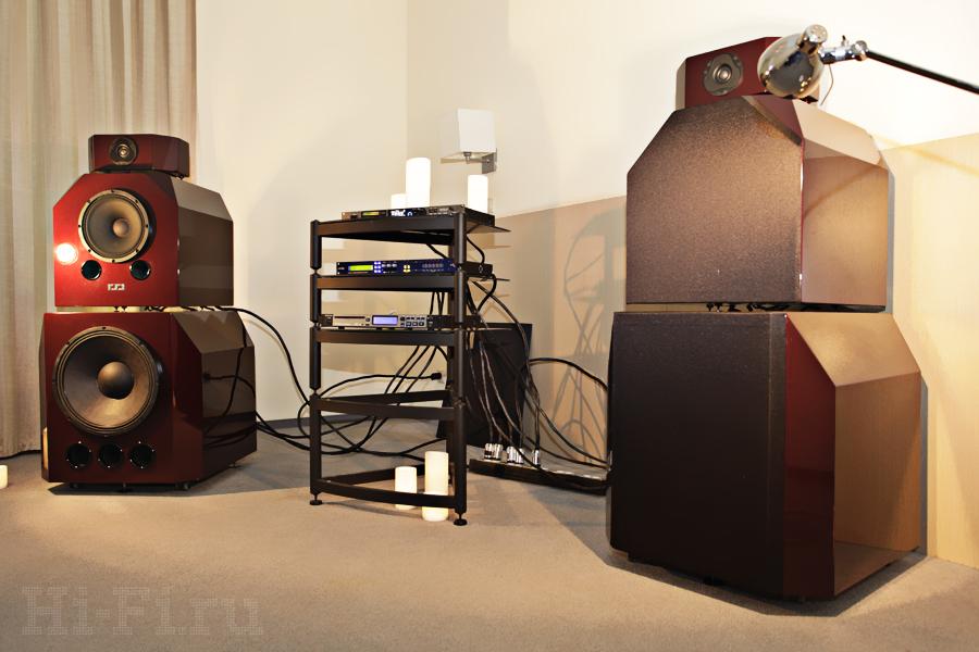 Музыкальная система 230 Model от Slonov Sound Design. Активные кроссоверы и триампинг