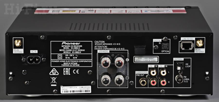 Стереосистема Pioneer X-HM82-K