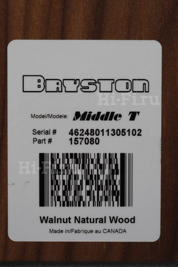 Акустические системы Bryston Middle T