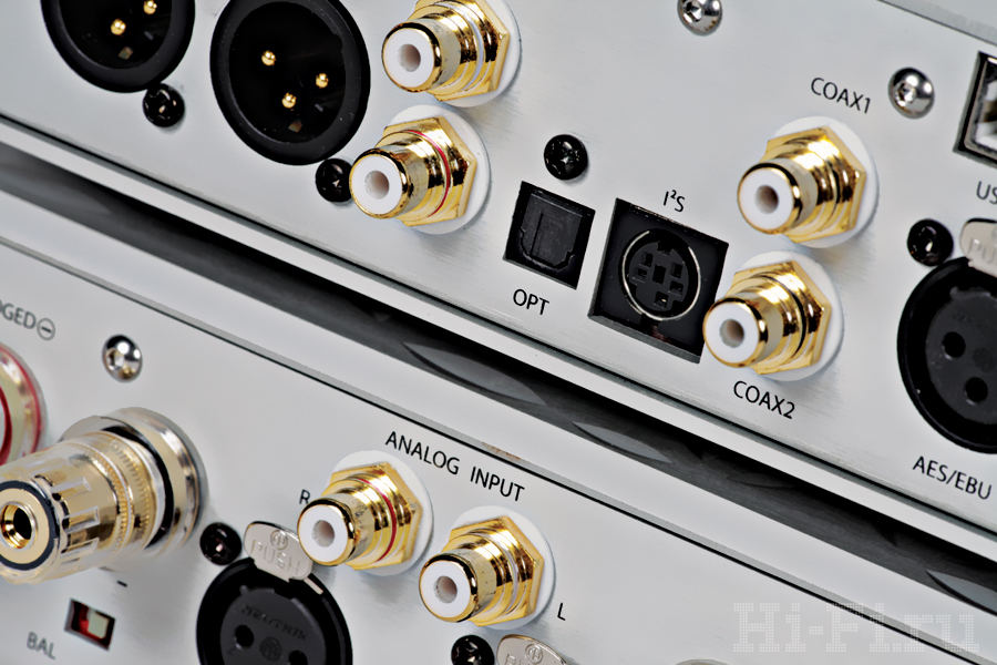Предварительный усилитель с ЦАП Eximus DP1 / Монофонические усилители мощности Eximus S1