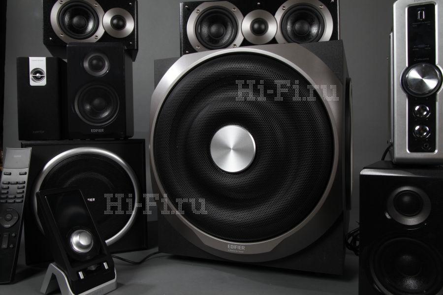 Активные акустические системы Edifier