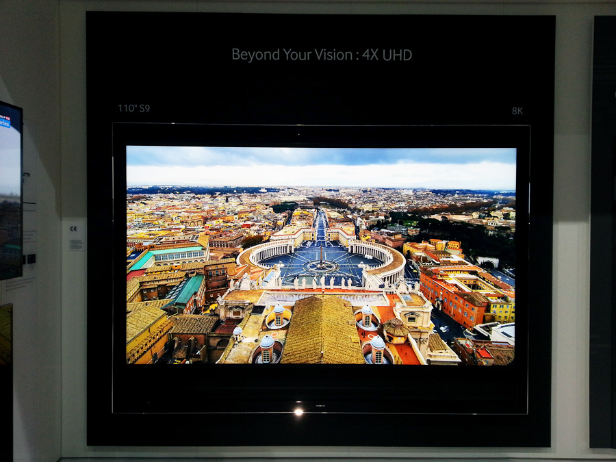 Экран 8K от Samsung