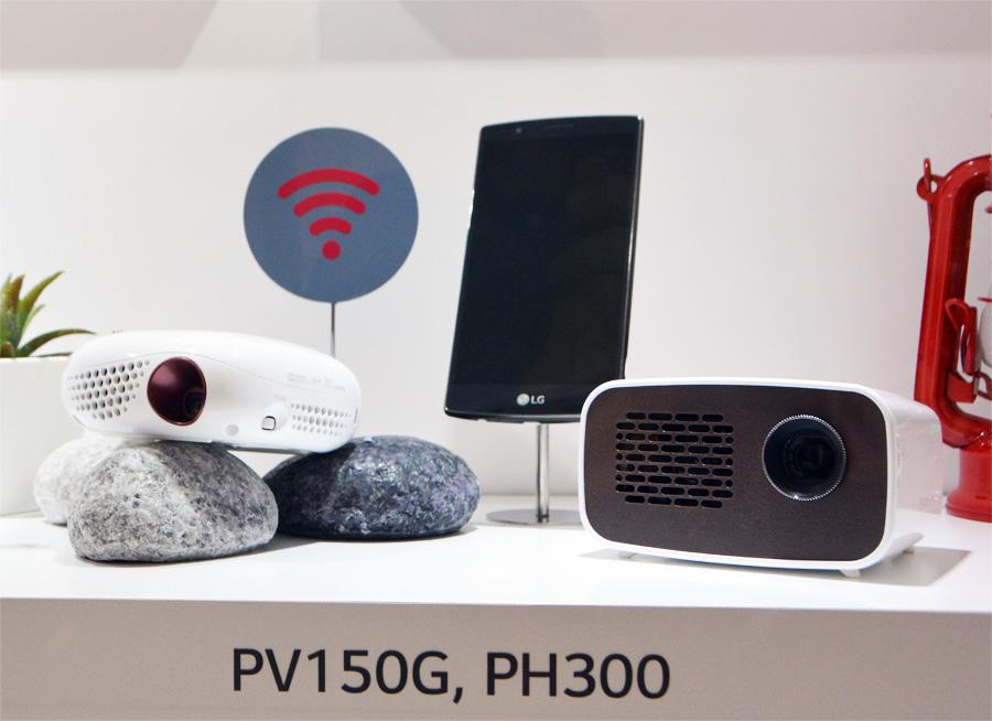 Проекторы LG PV150G и PH300
