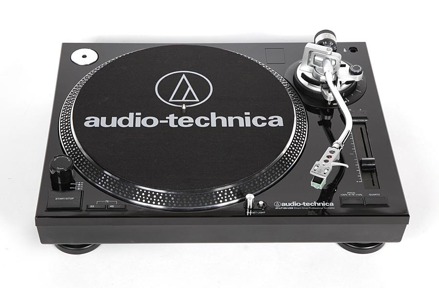 Проигрыватель грампластинок Audio-Technica AT-LP120USB
