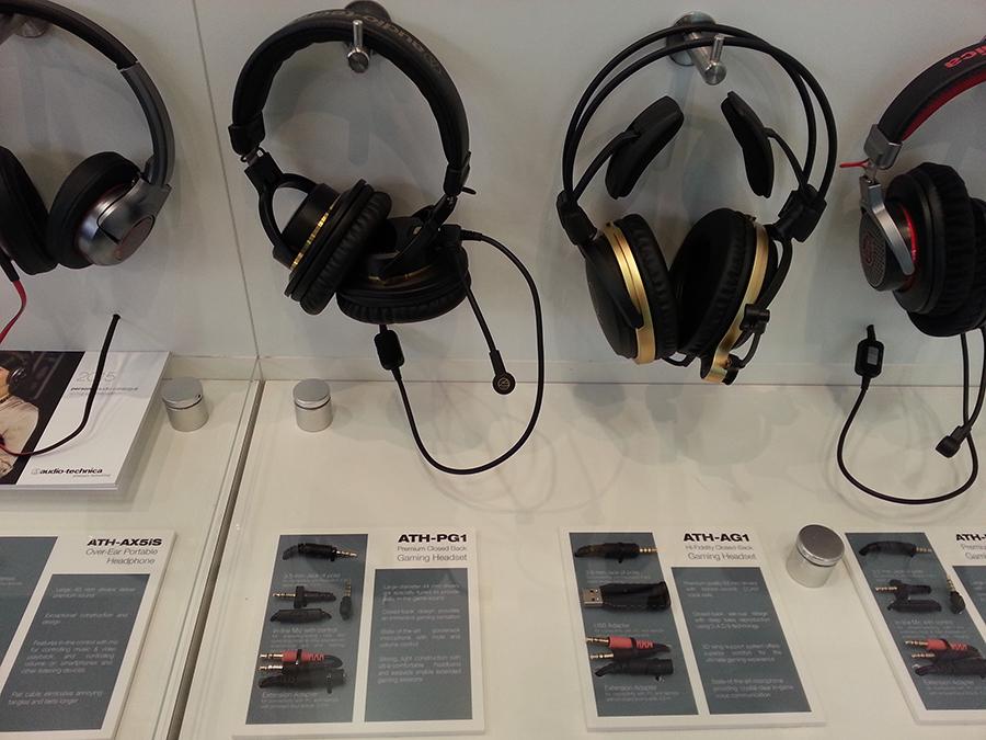 Наушники Audio-Technica для геймеров