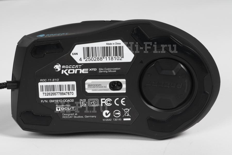 Игровые мыши ROCCAT Kone XTD и ROCCAT Kone Pure