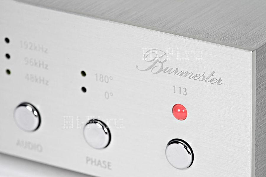 Цифроаналоговый преобразователь Burmester 113 DAC
