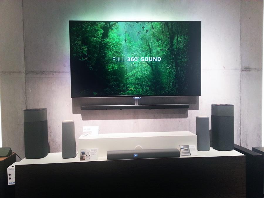 Система домашнего кинотеатра Philips Zenit