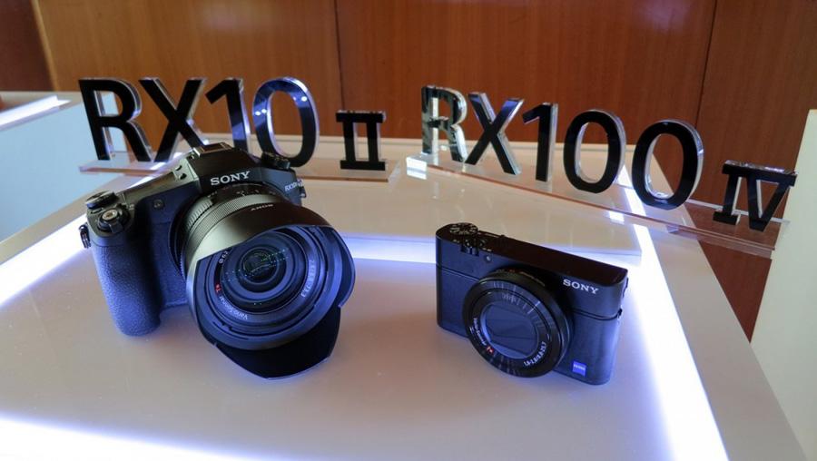Фотокамеры Sony RX100 IV и RX10 II