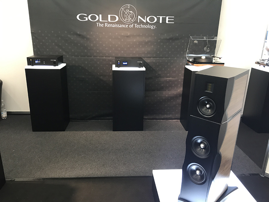 Фоторепортаж с выставки Munich High End Show 2017 - Gold Note
