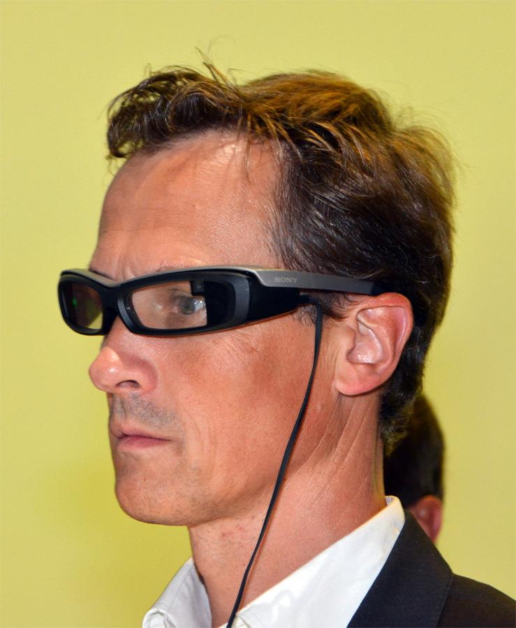 Очки Sony SmartEyeglass
