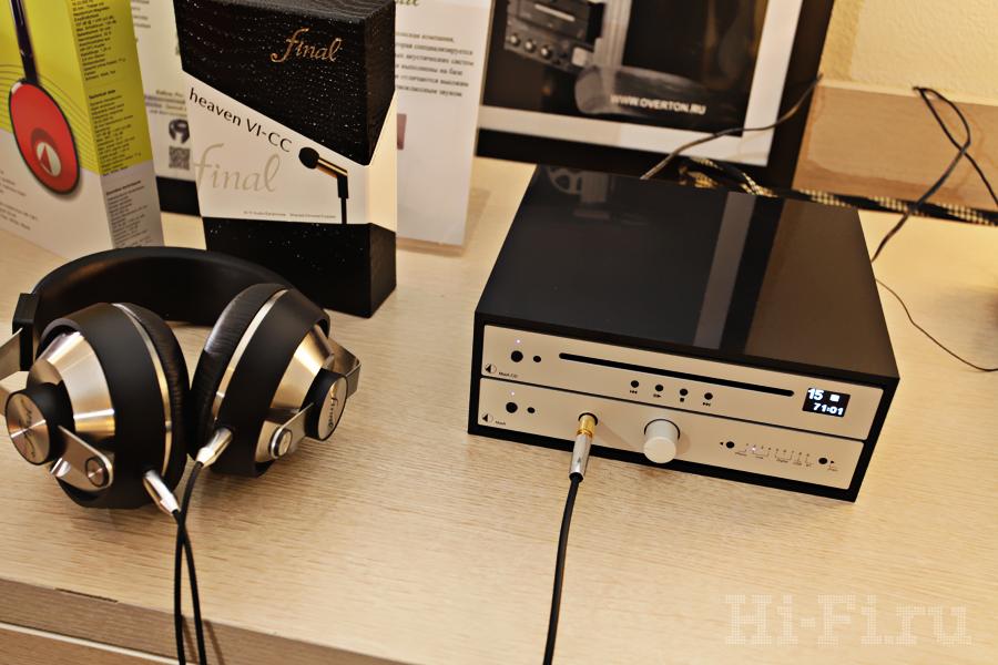 Наушники Pandora Hope VI от Final Audio Design и ультракомпактные компоненты Pro-Ject серии MaiA - CD-плеер и интегрированный усилитель с ЦАП
