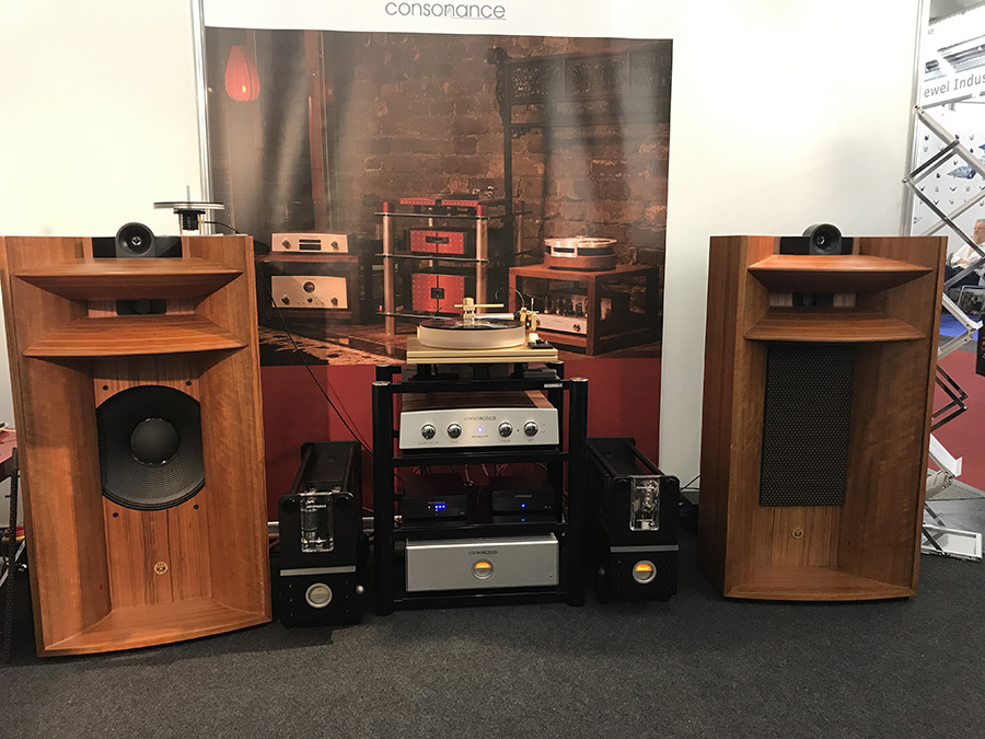 Фоторепортаж с выставки Munich High End Show 2017 - Consonance Audio