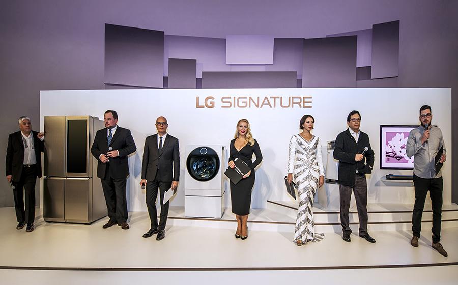 Презентация премиальной линейки LG SIGNATURE