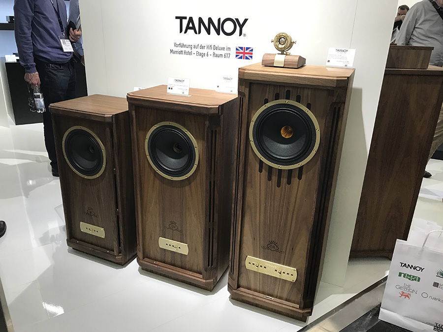 Фоторепортаж с выставки Munich High End Show 2017 - Tannoy