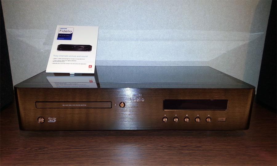 Проигрыватель Blu-ray Philips Fidelio BDP9700