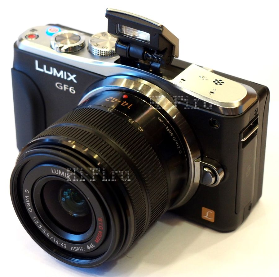 Презентация камеры Panasonic GF6 формата micro 4/3 и обновление штатного объектива