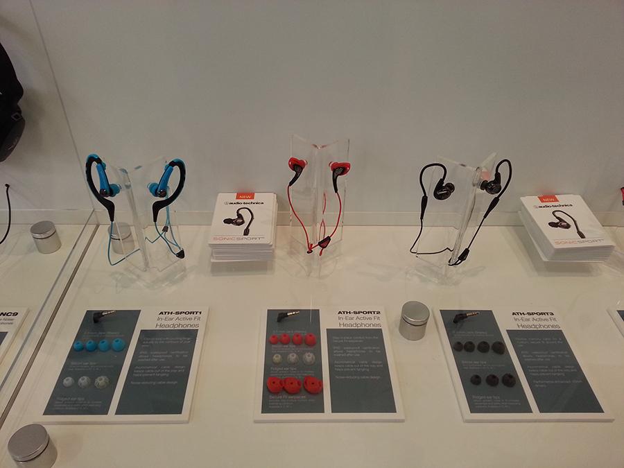 Серия наушников Audio-Technica для любителей занятий спортом