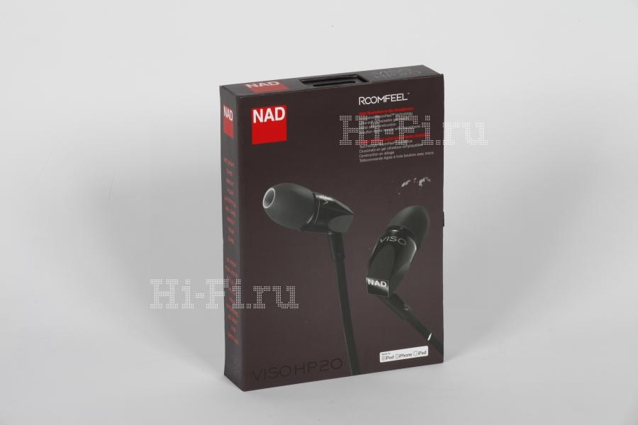 Стереофоническая гарнитура NAD Viso HP20
