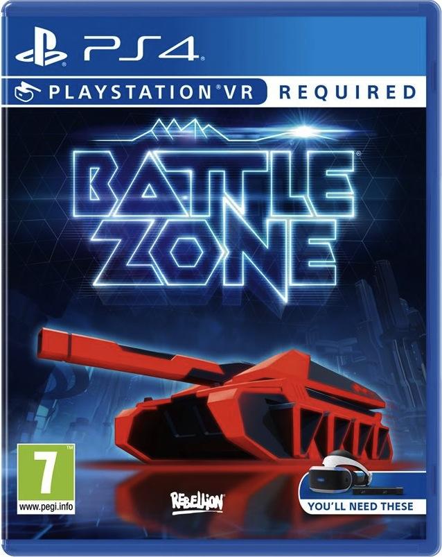 Обзор игры Battlezone