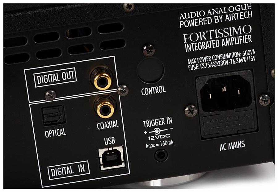 Интегрированный усилитель Audio Analogue Fortissimo