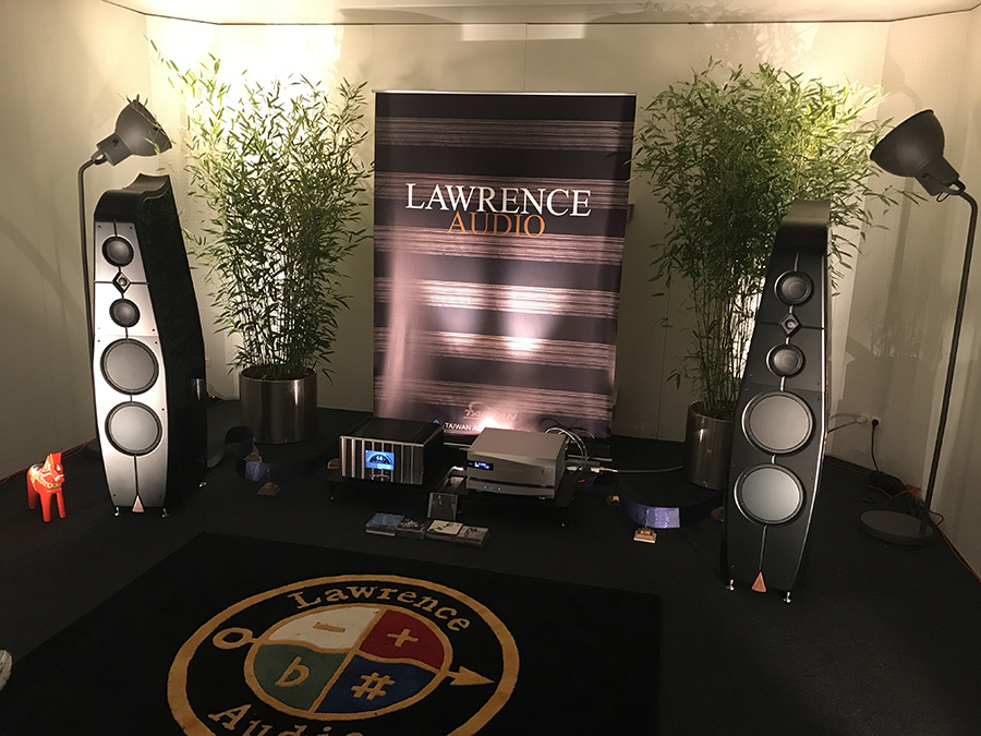 Фоторепортаж с выставки Munich High End Show 2017 - Lawrence Audio