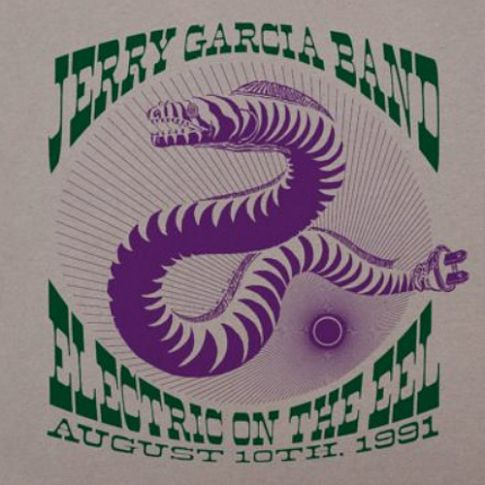 Jerry Garcia Band «Electric on the Eel» на виниле