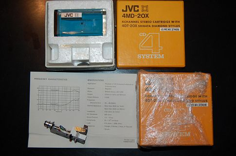 JVC 4MD-20X Cartridge ( квадро ) НОВАЯ - NOS