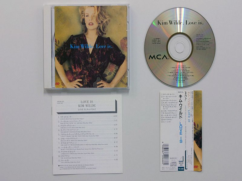 KIM WILDE – LOVE IS - 1992.(MVCM-200)-1992!ФИРМЕННЫЙ JAPAN CD.1 ПРЕСС+OBI