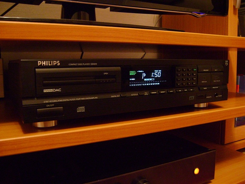 CD Philips 820-CD Sugden Masterclass PDT4