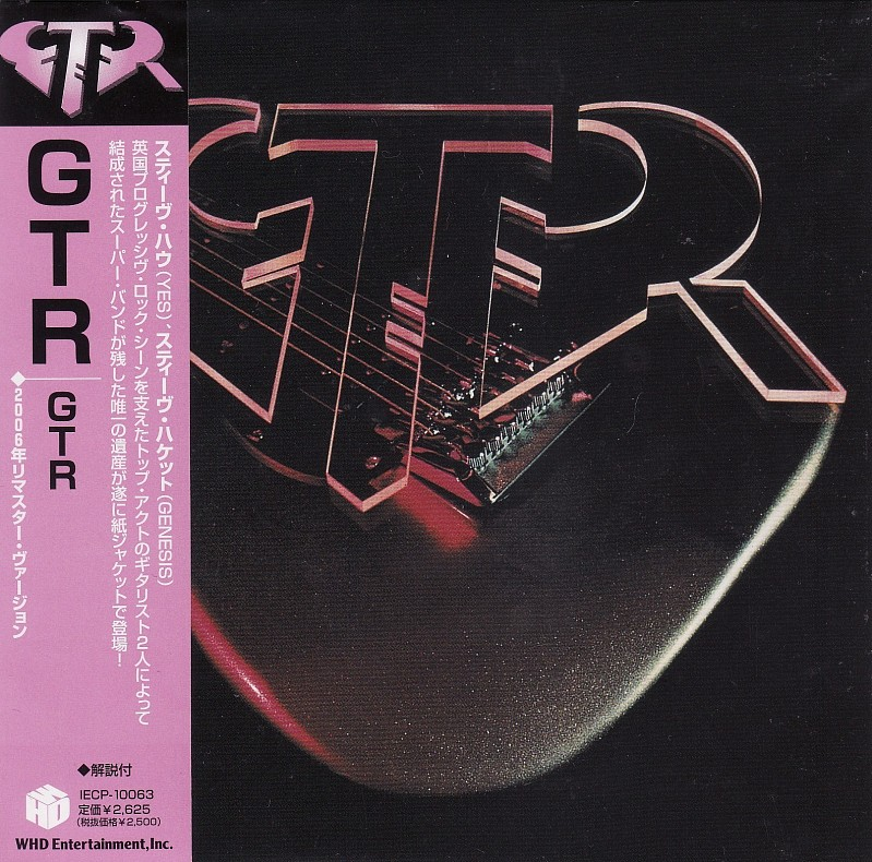 ФИРМЕННЫЙ CD. GTR- GTR- 1986. ( Mini-LP).  JAPAN CD.