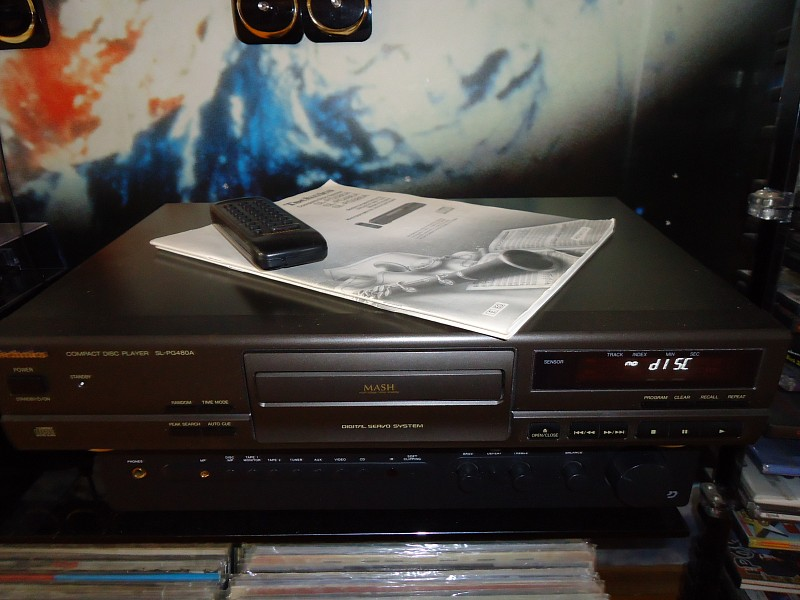 CD (C-D-S) Technics SL-PG480A / Germany /