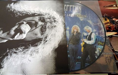 Led Zeppelin Grand Levitation Picture Disc 3 шт LIVE 2007