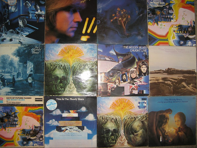 LP    THE  MOODY  BLUES